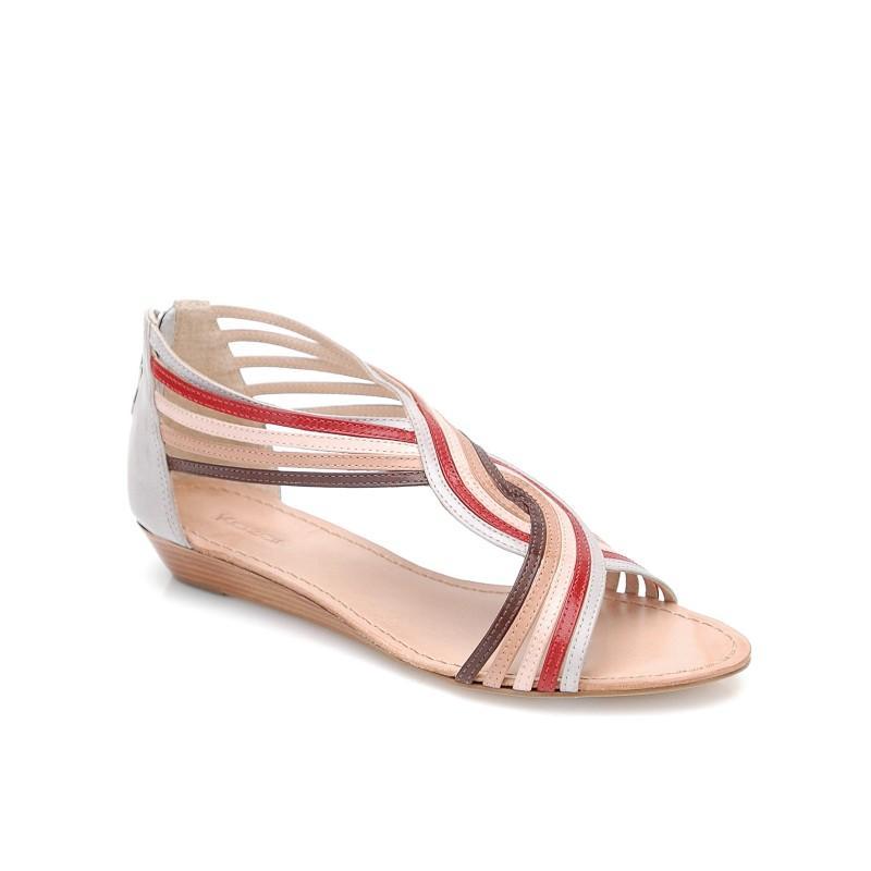 kolorowe sandały Kazar - wiosna/lato 2011