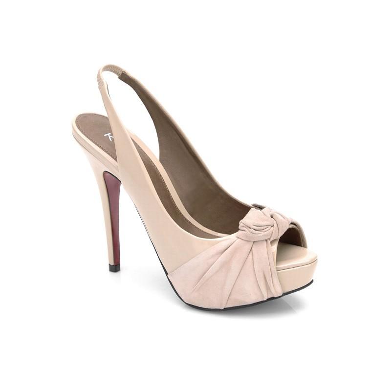 beżowe sandały Kazar - wiosenna kolekcja