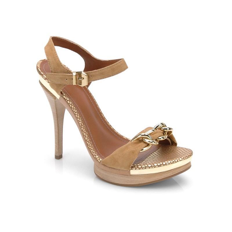 brązowe sandały Kazar - letnia kolekcja