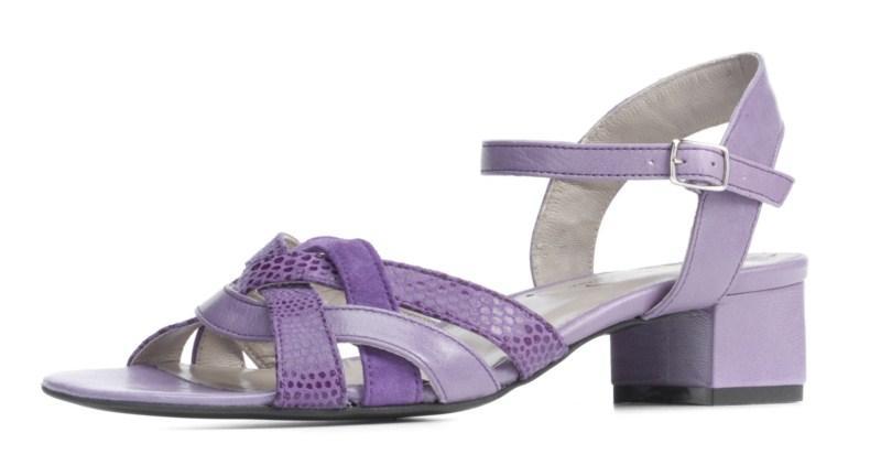 fioletowe sandałki Ryłko - lato 2011