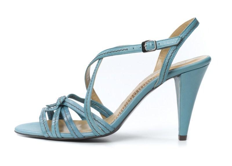niebieskie sandałki Ryłko - lato 2011
