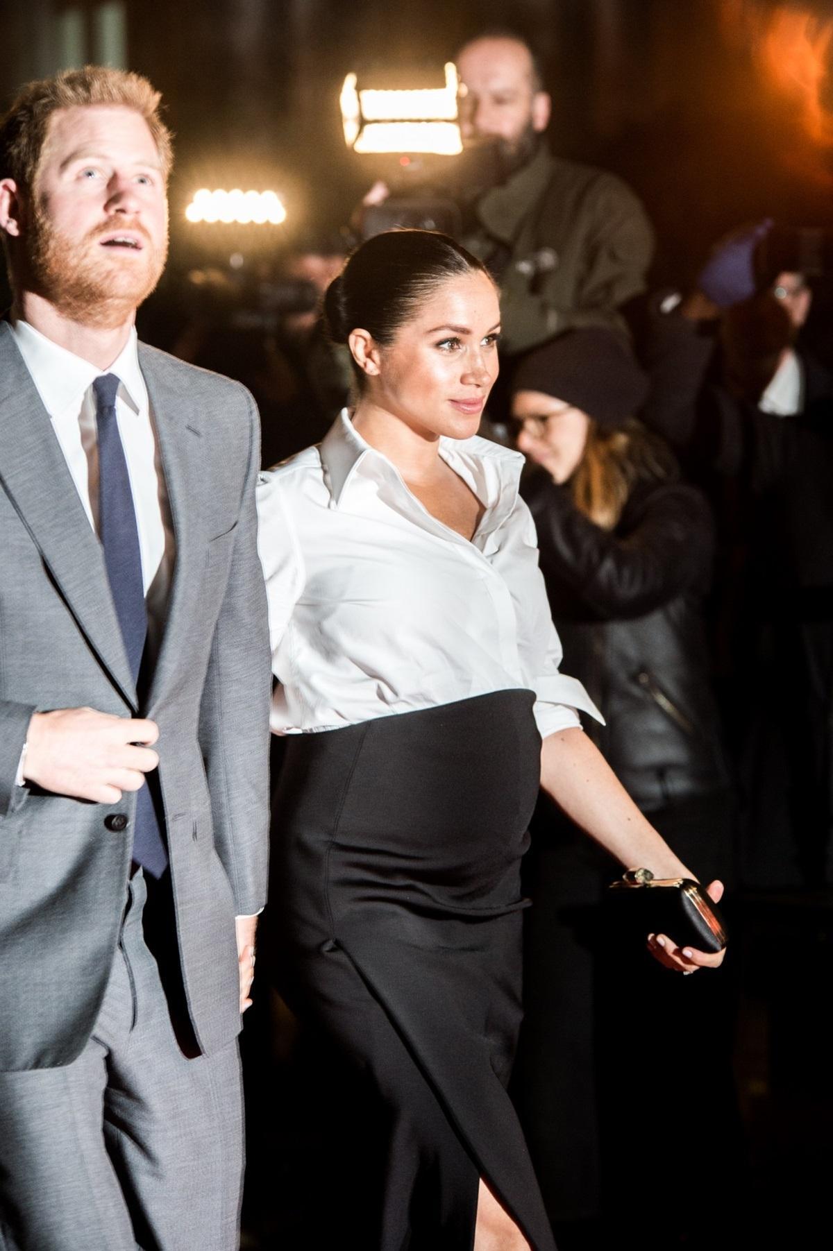 Księżna Meghan na ostatnim etapie ciąży