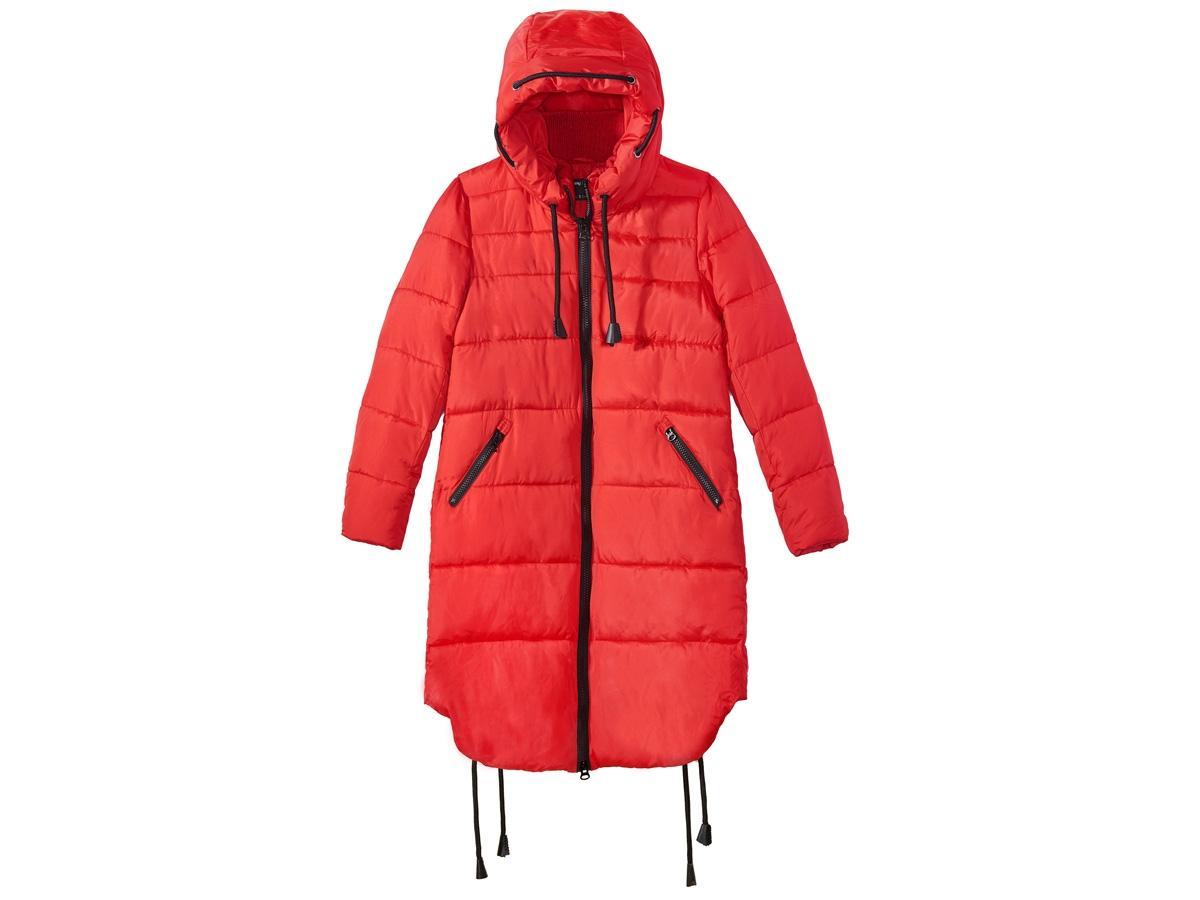 006d906c80 Czerwona kurtka puchowa Sinsay