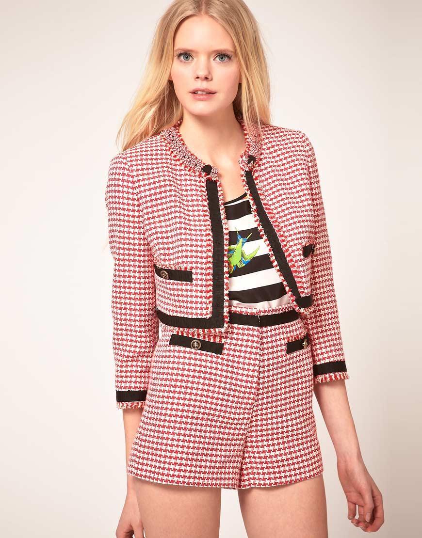 455bee48695d9 Klasyczne żakiety w stylu Coco Chanel - Trendy sezonu - Polki.pl