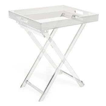 Wyjątkowy stolik w kolorze bieli ze szklanym blatem -inspiracje od Zara Home