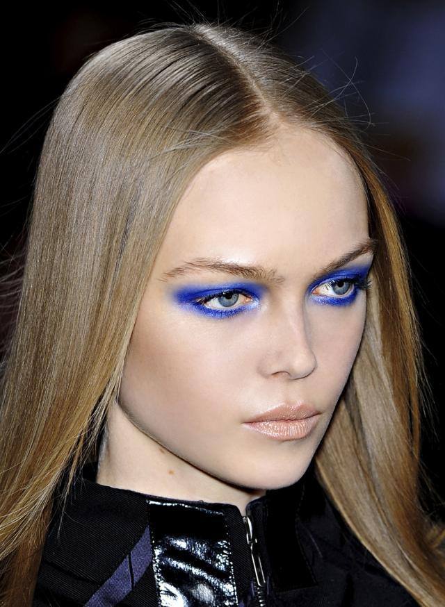 wizażystka, makijaż krok po kroku, abc makijażu, trendy, niebieski makijaż