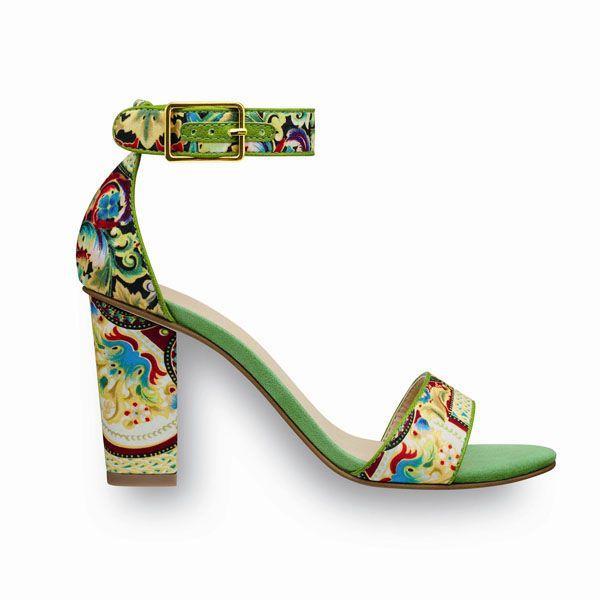 Sandałki na obcasie Tamaris, cena