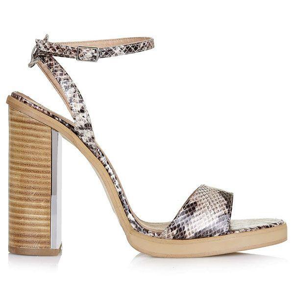 Sandałki na obcasie Topshop, cena