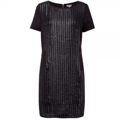 Czarna sukienka z cekinami, Solar