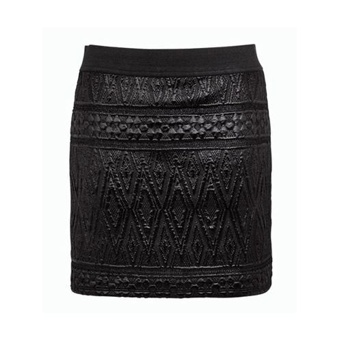 Czarna mini spódniczka, F&F
