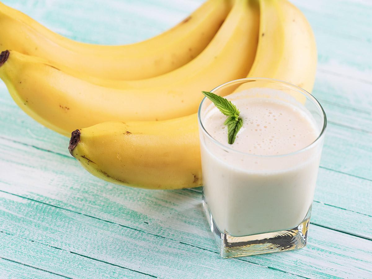przepis na koktajl bananowy