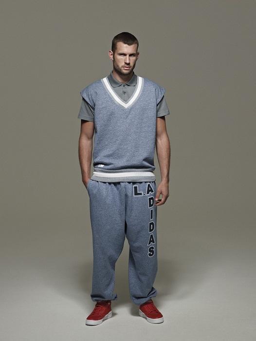 niebieska kamizelka Adidas - wiosenna kolekcja