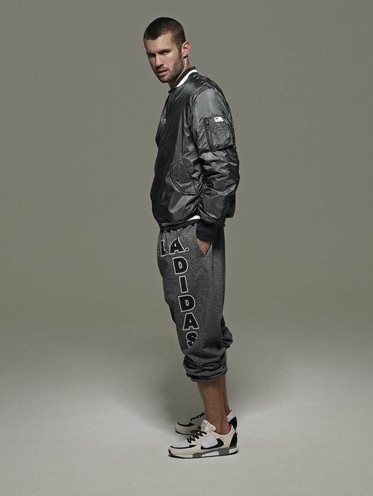 czarna kurtka Adidas - wiosna/lato 2011