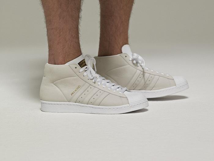 białe tenisówki Adidas - wiosenna kolekcja