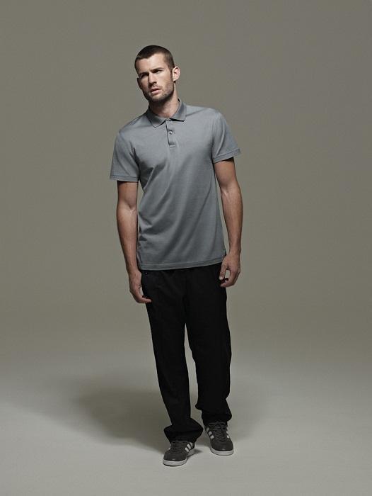 popielaty t-shirt Adidas - wiosenna kolekcja