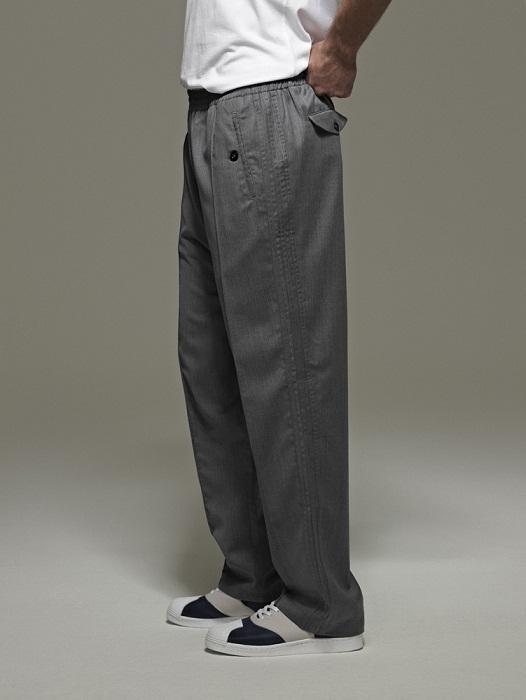 szare spodnie Adidas - wiosenna kolekcja