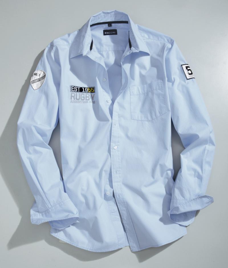 błękitna koszula Charles Vögele - kolekcja wiosenna