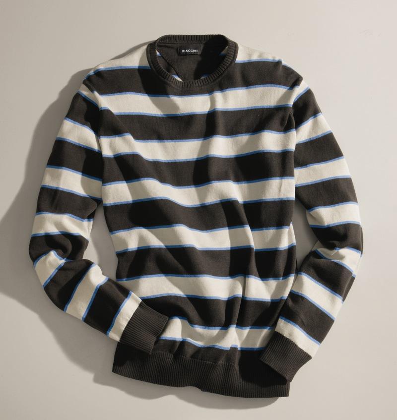 sweter Charles Vögele w pasy - moda wiosna/lato