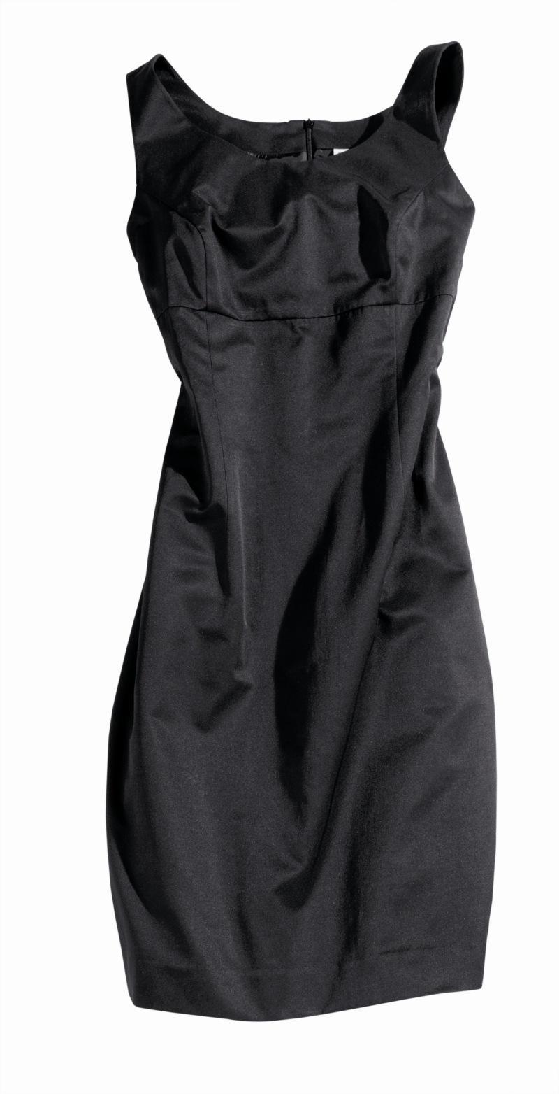 czarna sukienka Charles Vögele - moda wiosna/lato