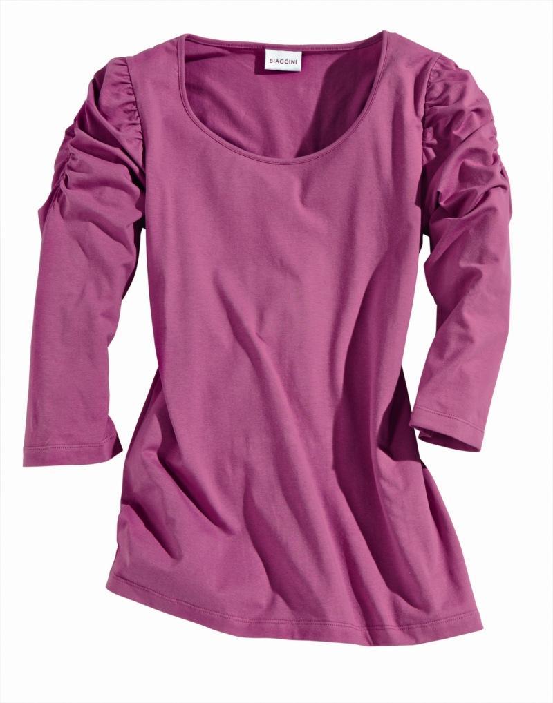 różowa bluzka Charles Vögele - moda wiosna/lato