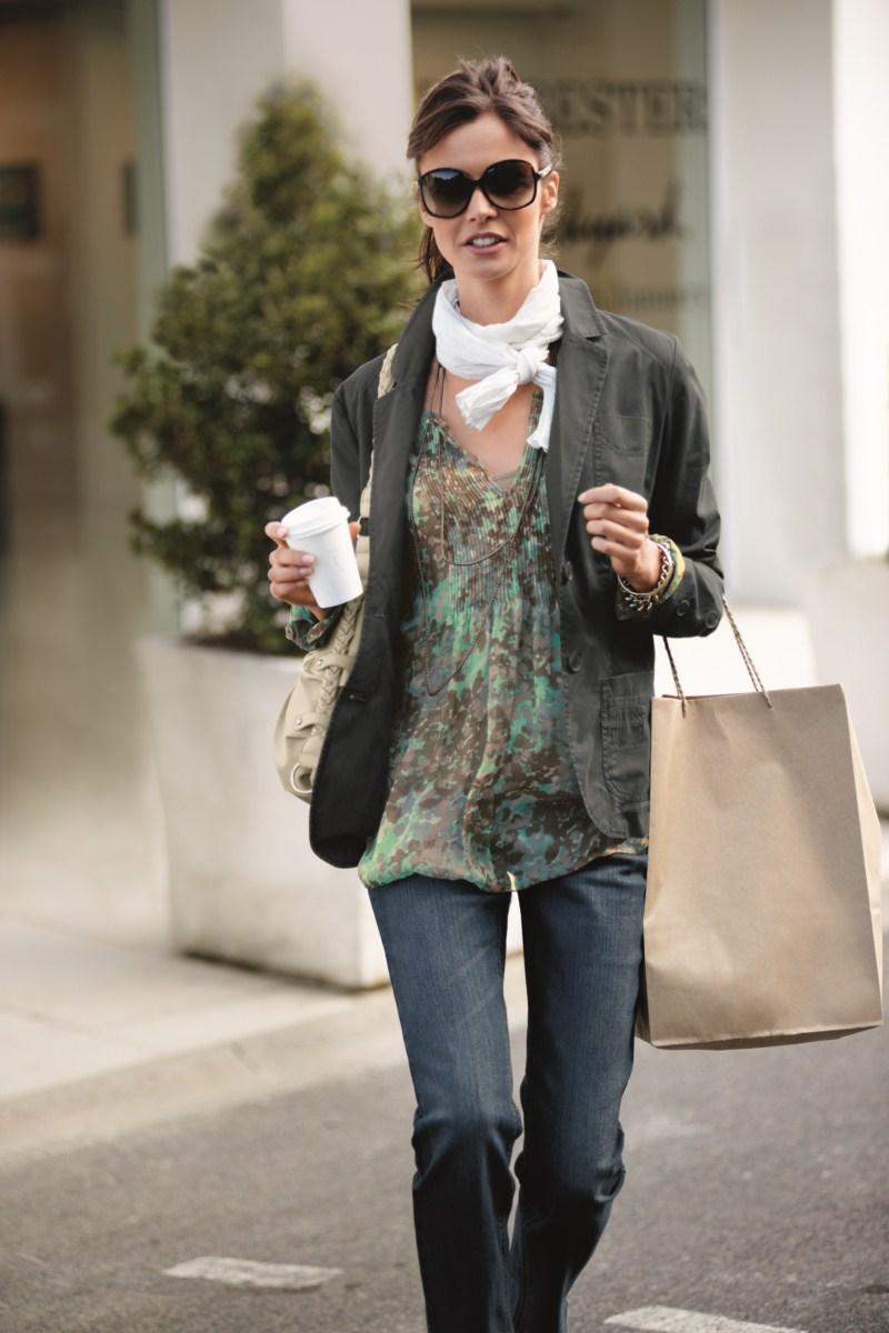 kolorowa bluzka Charles Vögele - moda wiosna/lato