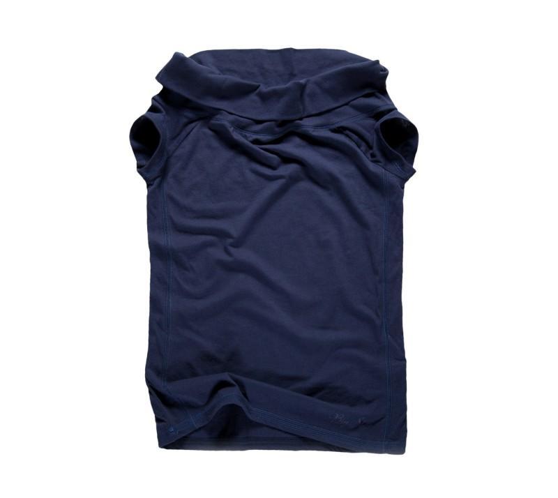 granatowa koszulka Big Star - trendy wiosna-lato