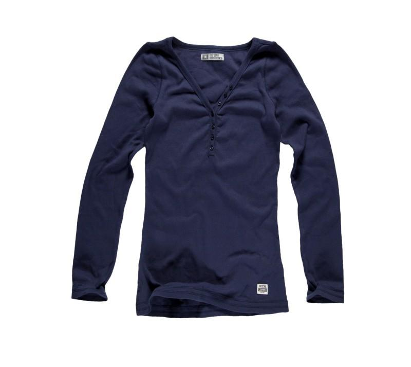 granatowa bluzka Big Star - trendy wiosna-lato