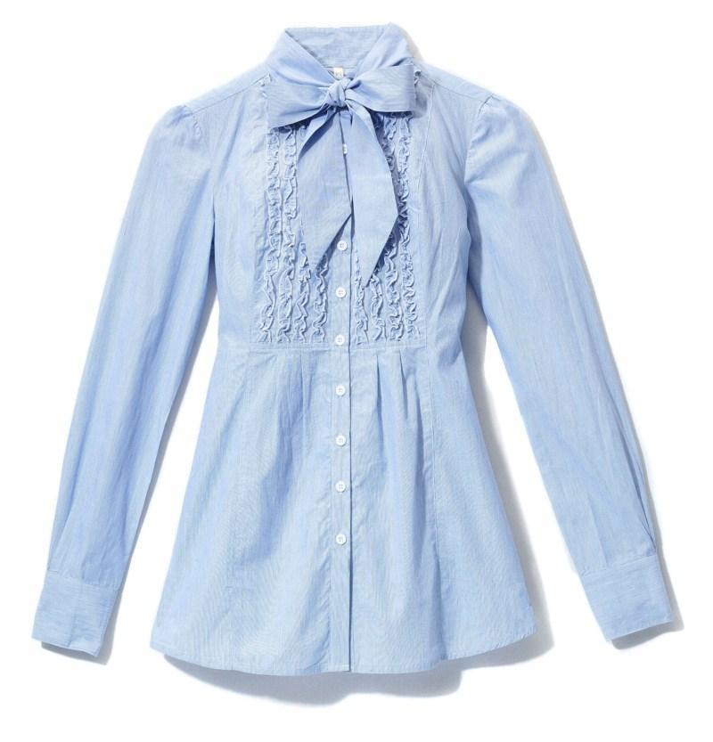 błękitna koszula House - kolekcja jesienno-zimowa