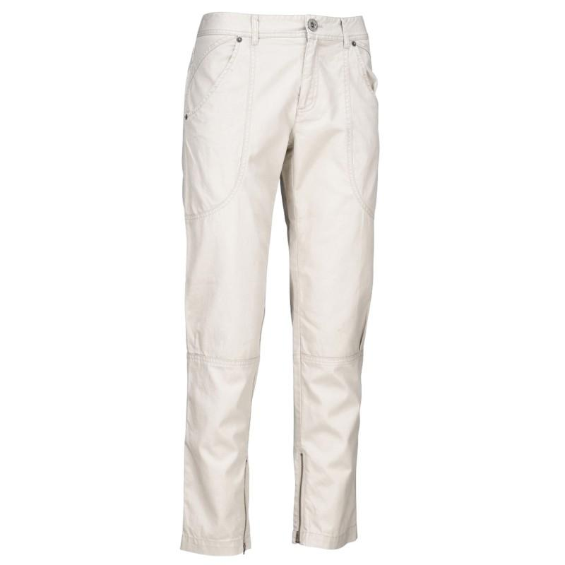 ecru spodnie Jackpot - sezon wiosenno-letni