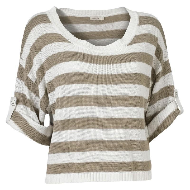 bluzka Jackpot w paski - sezon wiosenno-letni