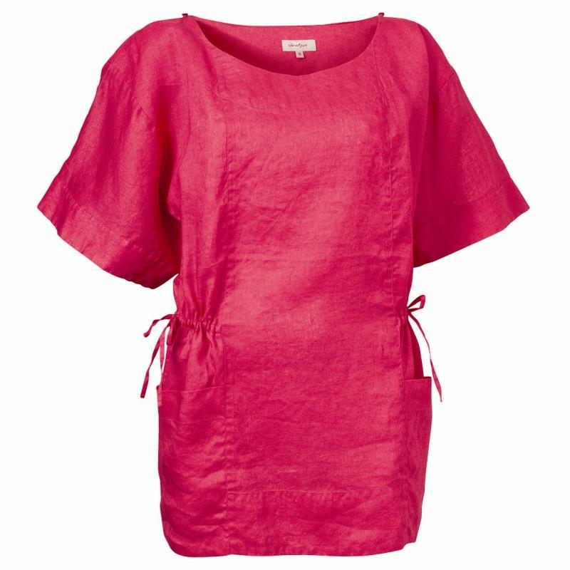 różowa bluzka Jackpot - wiosna 2011