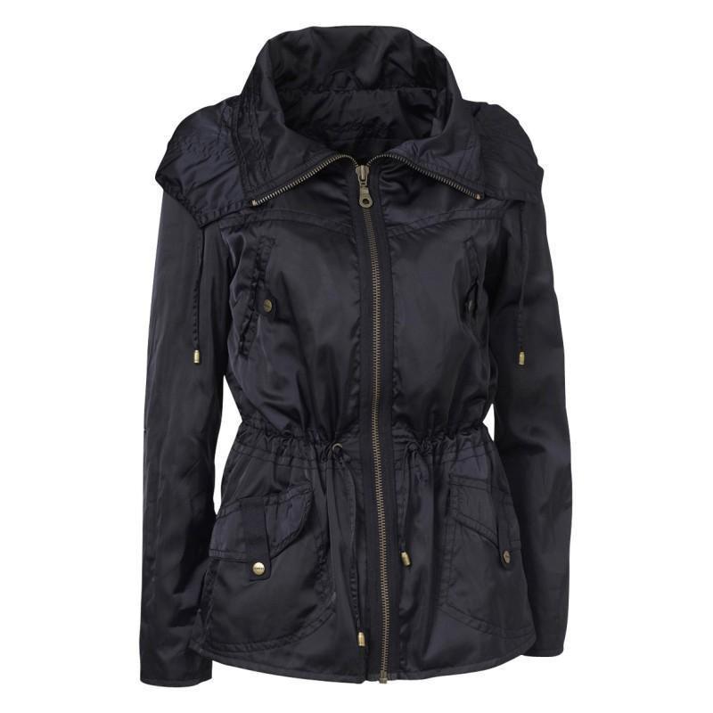 czarna kurtka Jackpot - trendy wiosna-lato