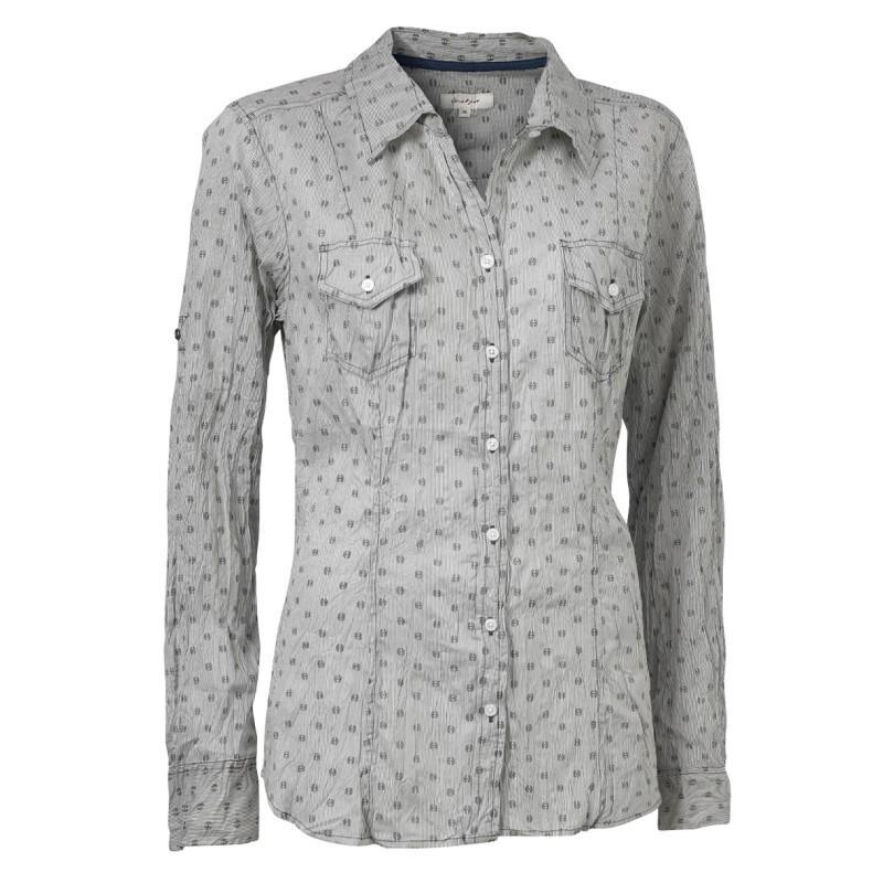 szara koszula Jackpot w kropki - moda 2011