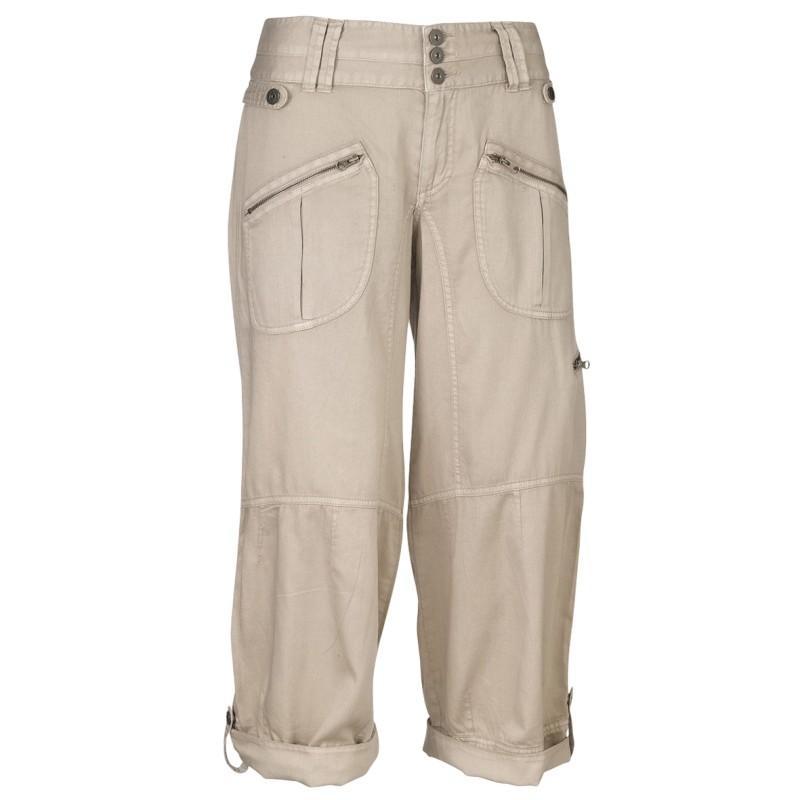 beżowe spodnie Jackpot rybaczki - kolekcja wiosenno/letnia