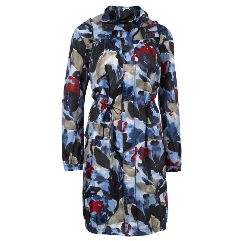 kolorowa kurtka Jackpot w kwiaty - wiosna/lato 2011
