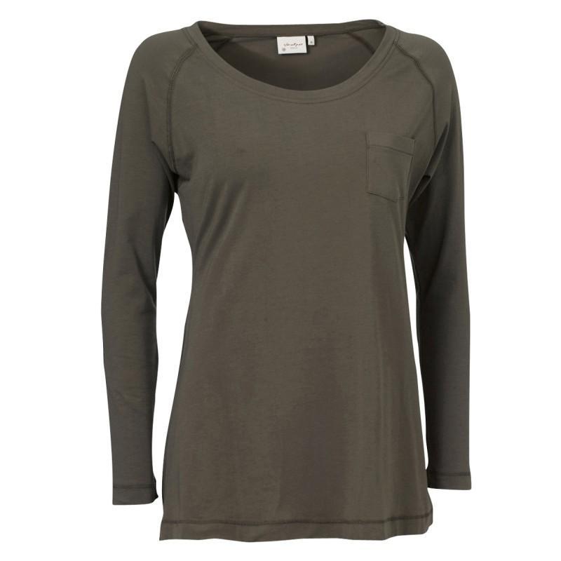 khaki bluzka Jackpot - z kolekcji wiosna-lato 2011
