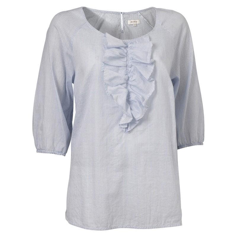 bluzka Jackpot z żabotem - kolekcja wiosenno/letnia