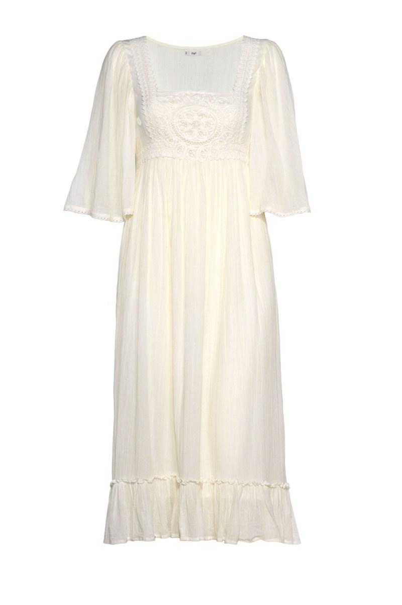 ecru sukienka F&F - lato 2011