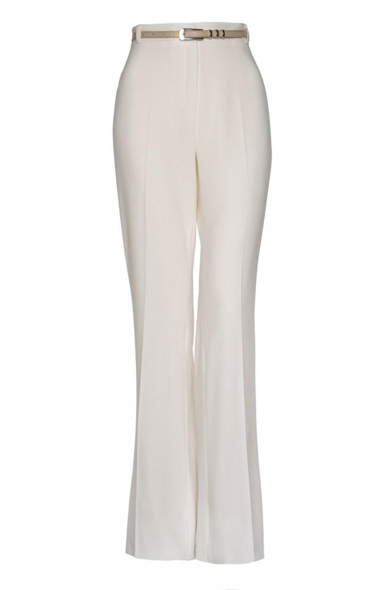 białe spodnie F&F - wiosenna kolekcja