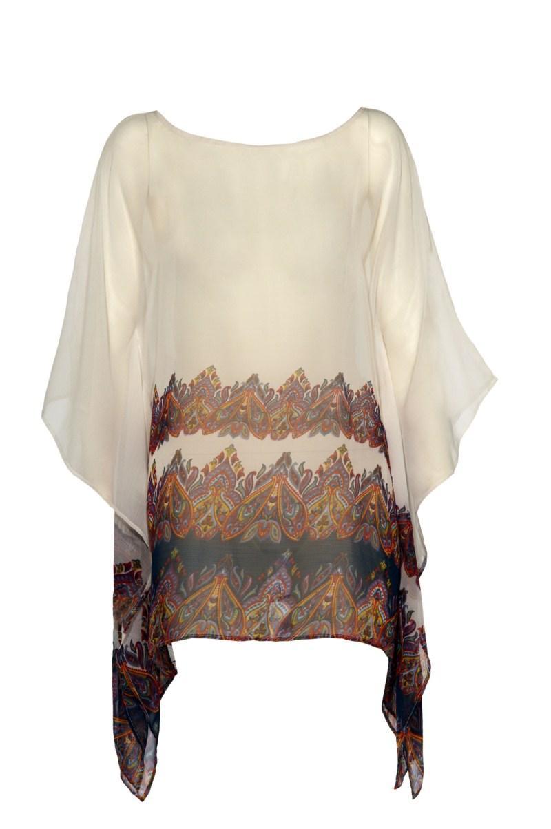ecru bluzka F&F - z kolekcji wiosna-lato 2011