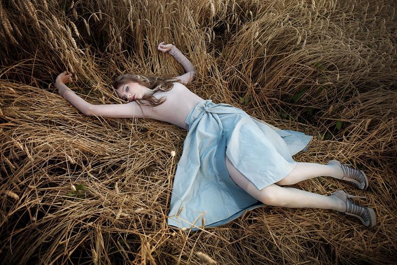 błękitna spódnica est by eS. - kolekcja jesienno-zimowa