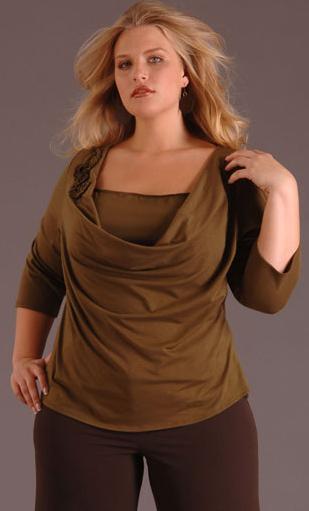 Kolekcja IGIGI dla zaokrąglonych -  jesień-zima 2007/2008 - zdjęcie