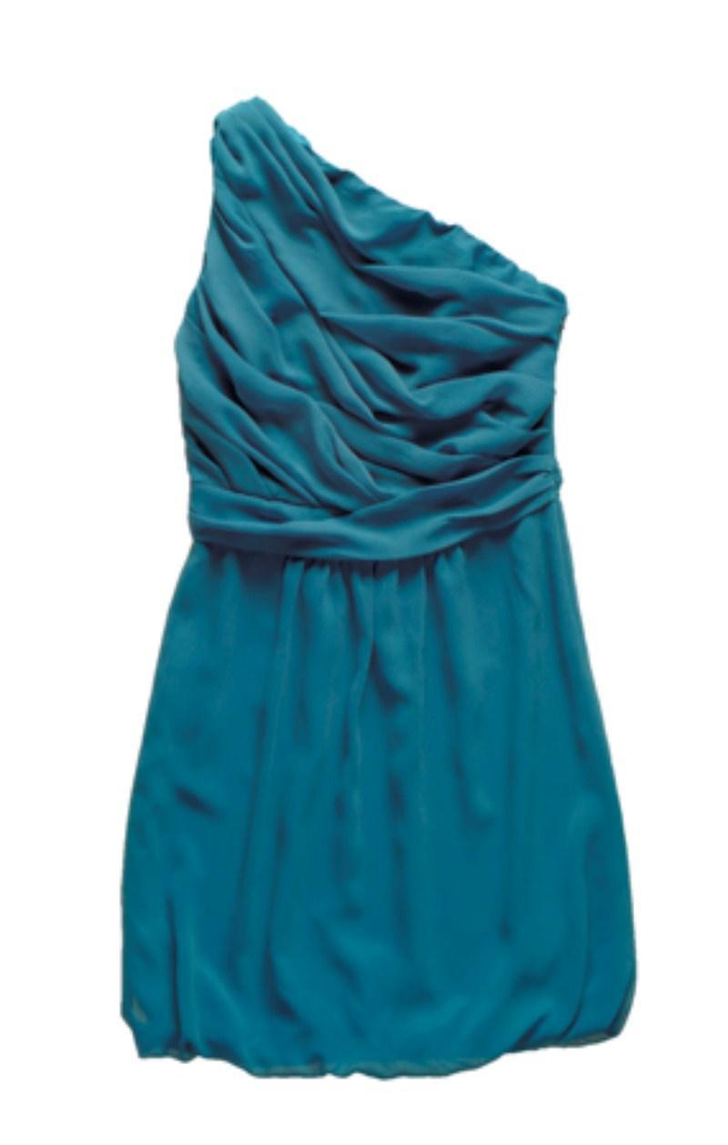 turkusowa sukienka Tatuum - moda zimowa