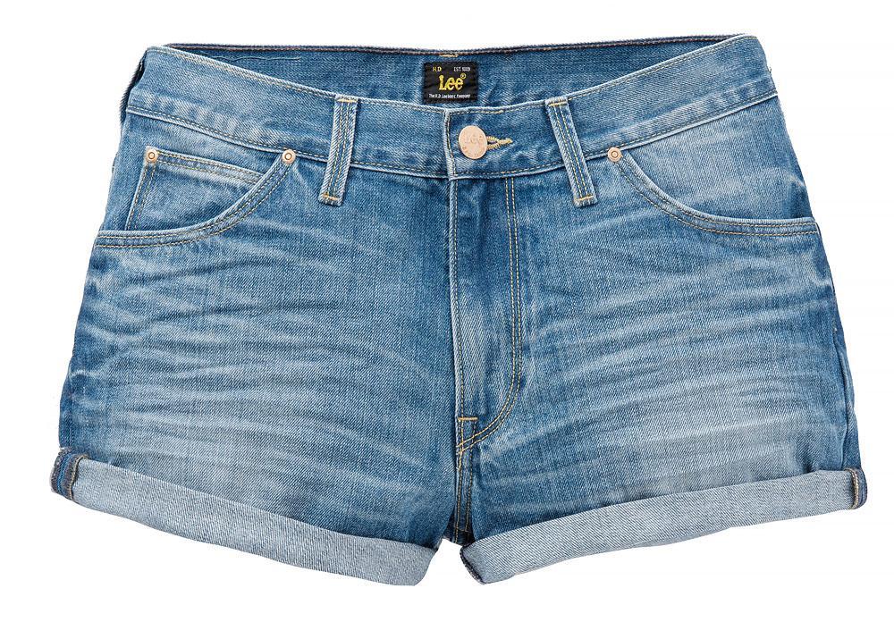 szorty Lee jeansowe