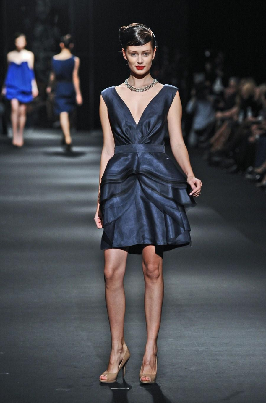 czarna sukienka Zień - wiosna/lato 2011