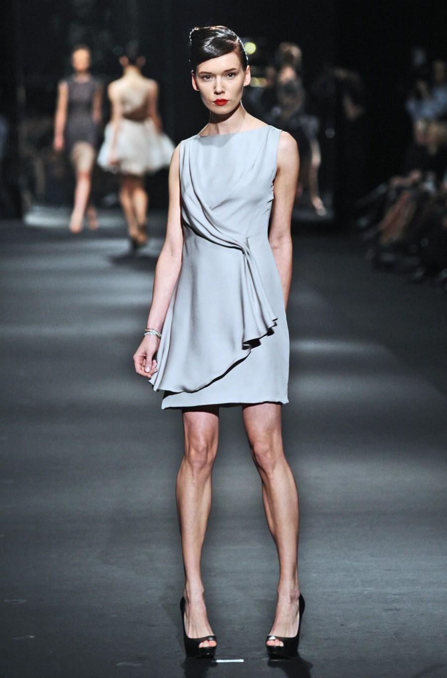srebrna sukienka Zień - wiosna/lato 2011