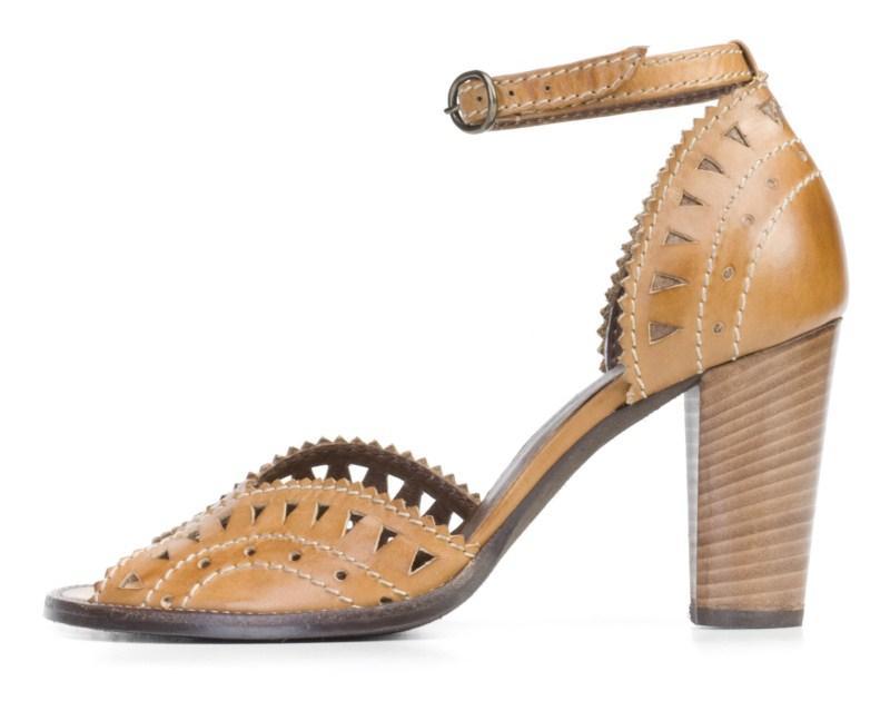 brązowe pantofle Ryłko - wiosna 2011