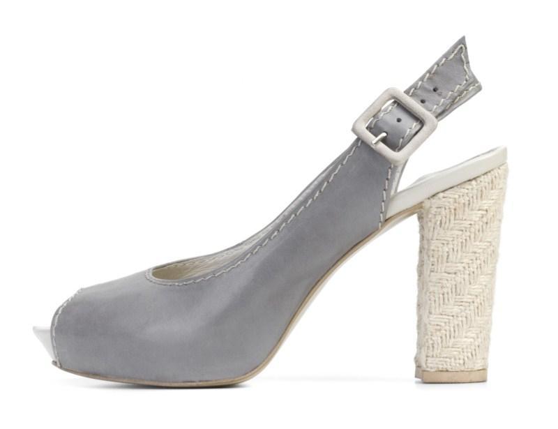 szare pantofle Ryłko - wiosna 2011