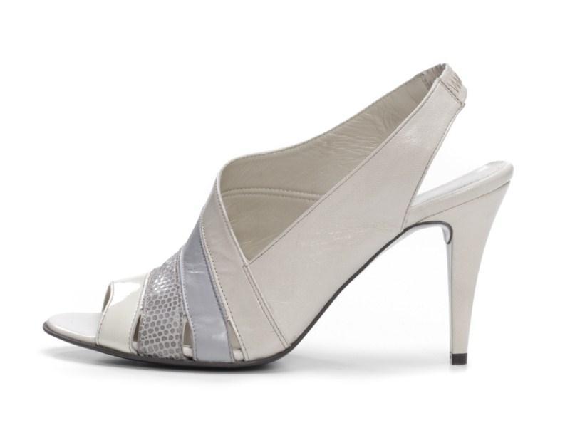 białe pantofle Ryłko - lato 2011