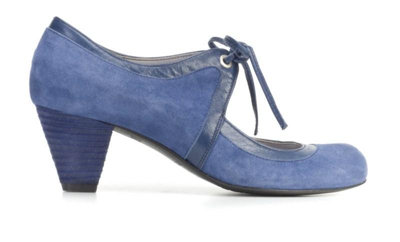 niebieskie pantofle Ryłko - wiosna 2011